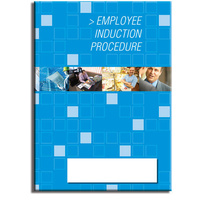 Employee Induction log book A4