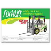 Forklift - Multi Shift  log book A5