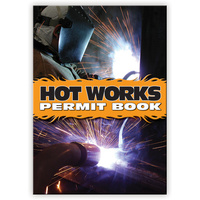 Hot Works Permits Permit book A4