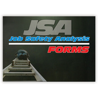 JSA Job Safety Analysis log book A4