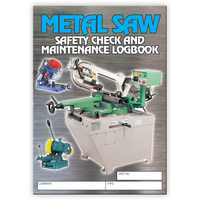 Metal Saw log book A5