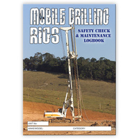 Mobile Drilling Rigs log book A4