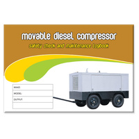Movable Diesel Compressor log book A5