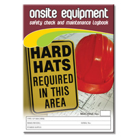 Onsite Equipment log book A5