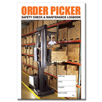 Order Picker log book A5