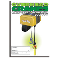 Overhead Cranes log book A5