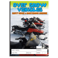 Over Snow Vehicles log book A5