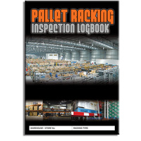 Pallet Racking log book A4