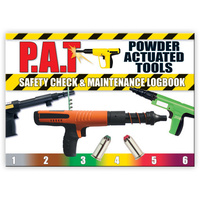 Powdered Actuated Tools log book A5