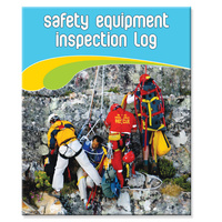 Rescue & Safety Equipment log book A4+