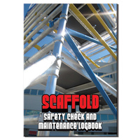 Scaffold log book A4