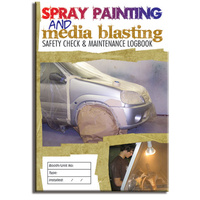 Spray Painting log book A5
