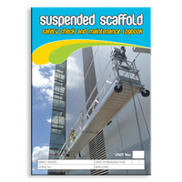 Suspended Scaffold log book A5