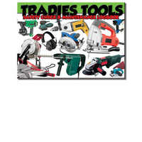 Tradies Tools Log Book A5