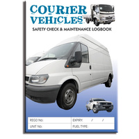 Courier Vehicles - Log Book A5