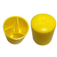 Yellow Star Picket Caps