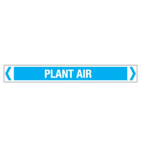 30x380mm - Self Adhesive Pipe Markers - Pkt of 10 - Plant Air