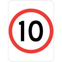 10 Speed Restriction