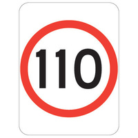 110 Speed Restriction