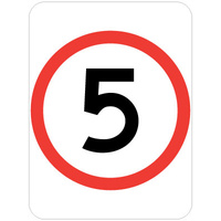 5 Speed Restriction