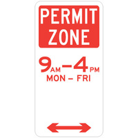 Permit Zone (Double Arrow)