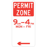 Permit Zone (Left Arrow)
