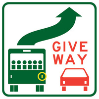 Give Way To Bus