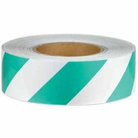 Reflective Tape - Green and White - Class 2 Engineer Grade