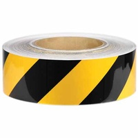 Reflective Tape - Yellow and Black - Class 2 Engineer Grade