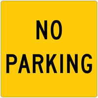 600x600 - Metal CL1W - No Parking