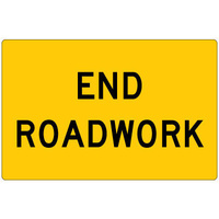 End Roadwork (Sign Only)