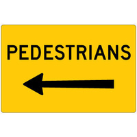 900x600 - Metal CL1W - Pedestrians (Arrow Left)
