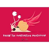 Know the Evacuation Procedure