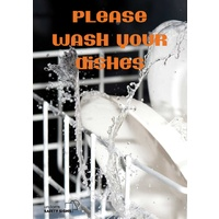 Please Wash Your Dishes