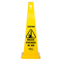 Caution Walkie Stackers In Use