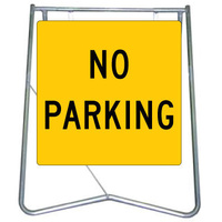 600x600 - Swing Stand and Sign - No Parking