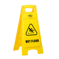 Plastic Sign Stand - Double Sided - Wet Floor