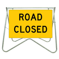 900x600 - Swing Stand and Sign - Road Closed