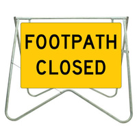 900x600 - Swing Stand and Sign - Footpath Closed