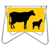 900x600mm - Swing Stand and Sign - Stock Picto