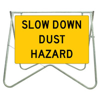Slow Down Dust Hazard