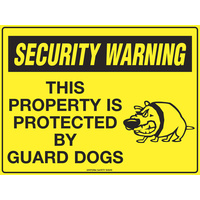 Security Warning This Property is Protected by Guard Dogs