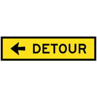 Detour (Left Arrow)