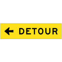 Detour (Arrow Left)