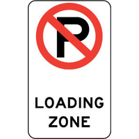 (No Parking Picto) Loading Zone