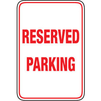 450x300mm - Metal - Reserved Parking