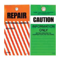 Pkt of 25 Tear Proof - Repair & Caution