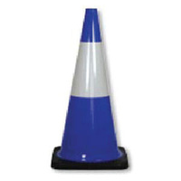 Traffic Cones - Reflective - Blue