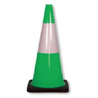 Traffic Cones - Reflective - Green