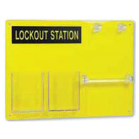 6 Lock Empty Lockout Station